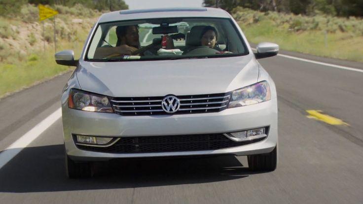 VW Passat car - Parks and Recreation TV Show Product Placement