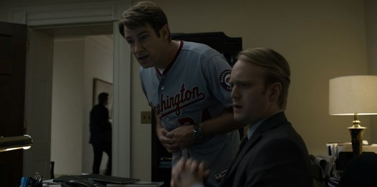 Washington Nationals and Victorinox Watches - House of Cards TV Show Product Placement