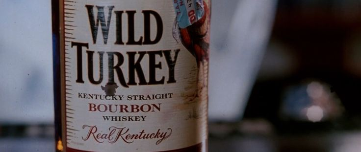 Wild Turkey whisky in DEATH PROOF (2007) - Movie Product Placement