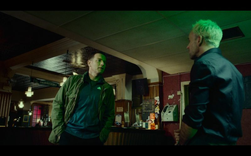 Adidas Men's Blue Jacket - T2 Trainspotting (2017) Movie Product Placement
