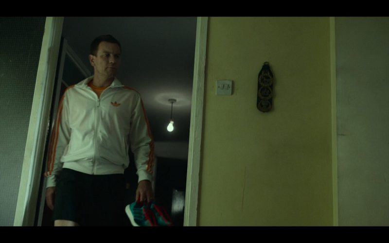 Adidas Men's White Jacket – T2 Trainspotting (2017) - Movie Product Placement