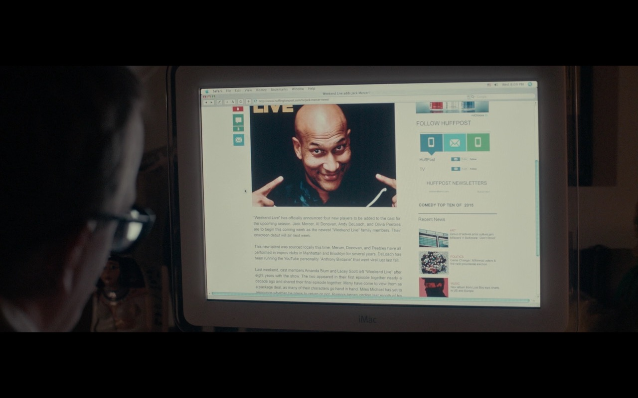 Apple iMac G4 Computer – Don't Think Twice (2016) Movie Product Placement