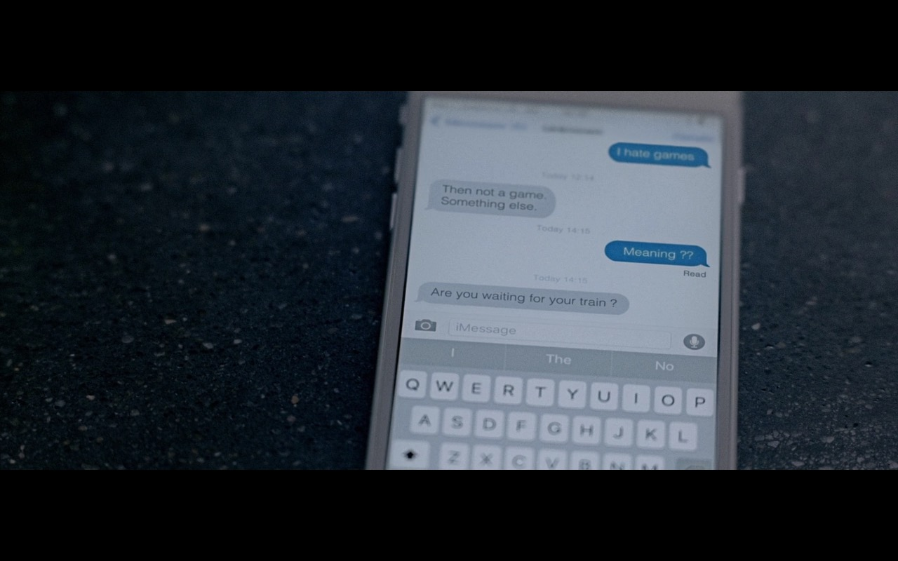 Apple iMessage – Personal Shopper (2016) Movie Product Placement