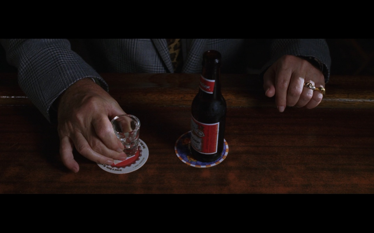 Budweiser beer - THE DEPARTED (2006) Movie Product Placement