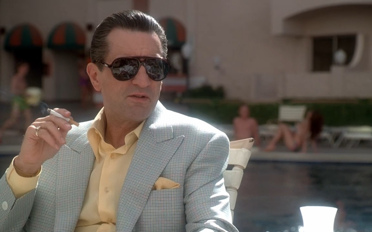 Carrera sunglasses - Casino (1995) Movie Product Placement