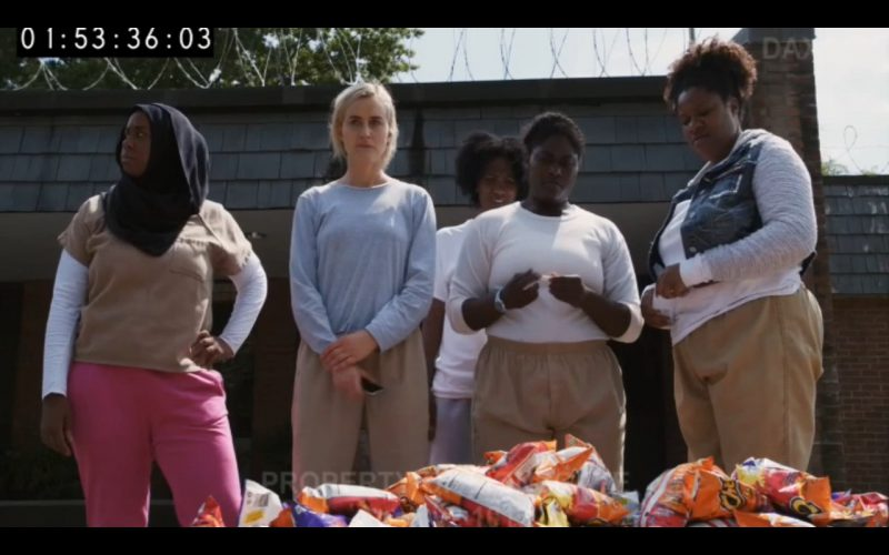 Cheetos - Orange Is the New Black - TV Show Product Placement
