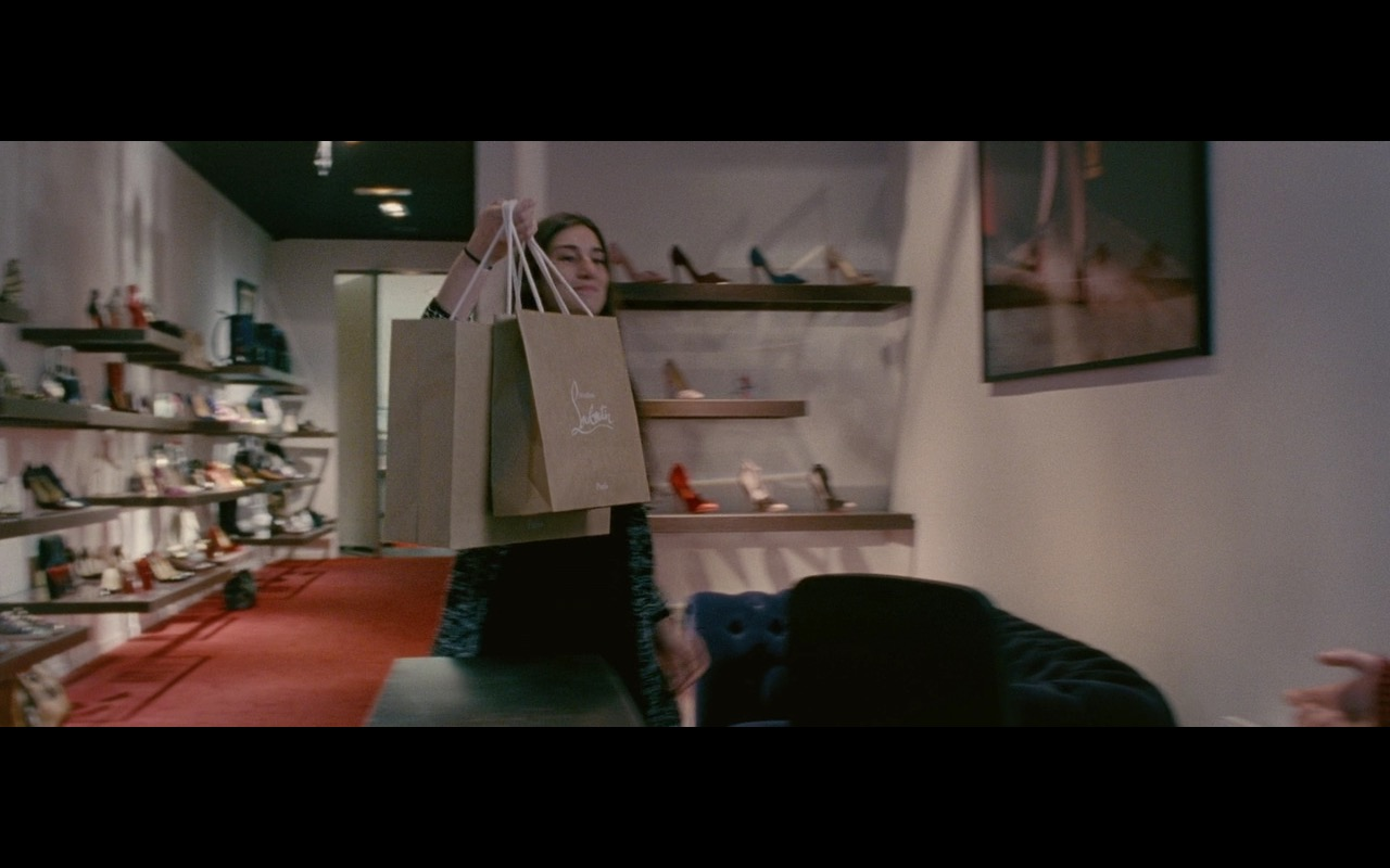 Christian Louboutin Paper Bags – Personal Shopper (2016) Movie Product Placement