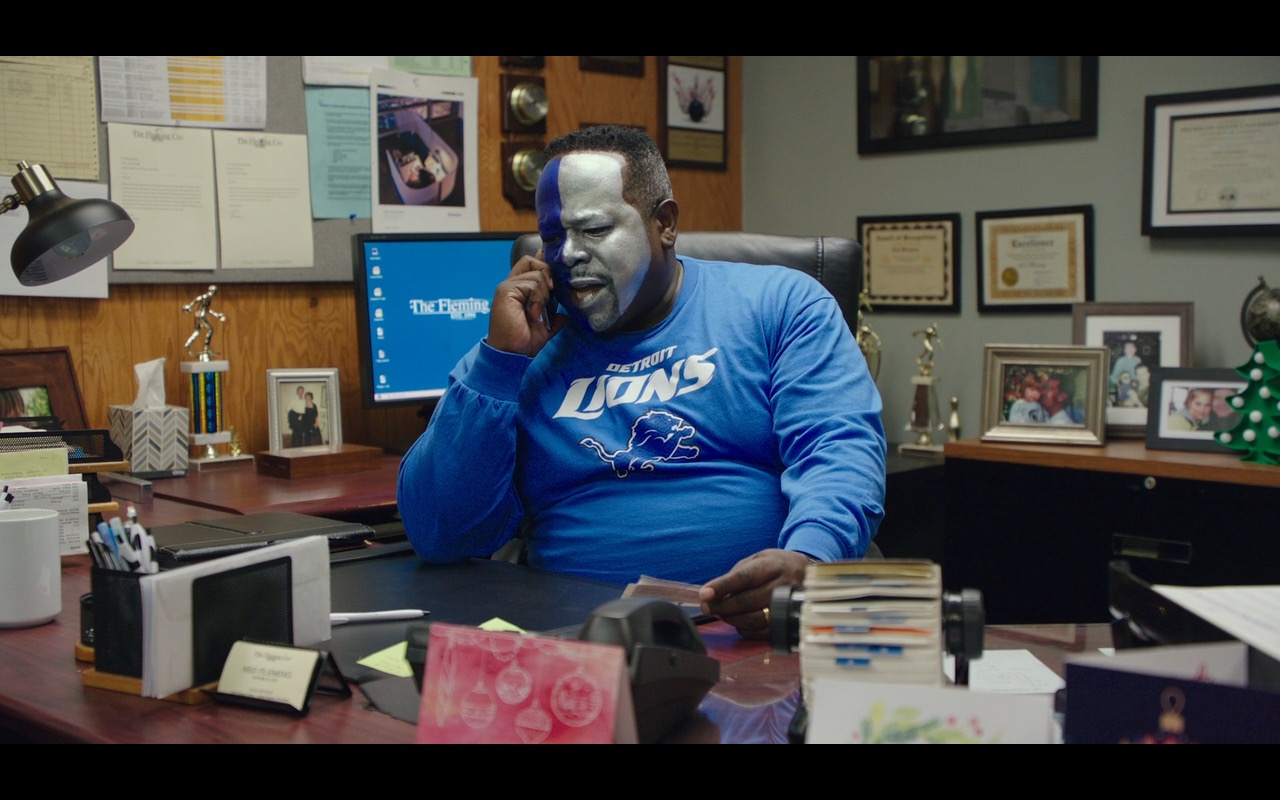 Detroit Lions – Why Him? (2016) - Movie Product Placement