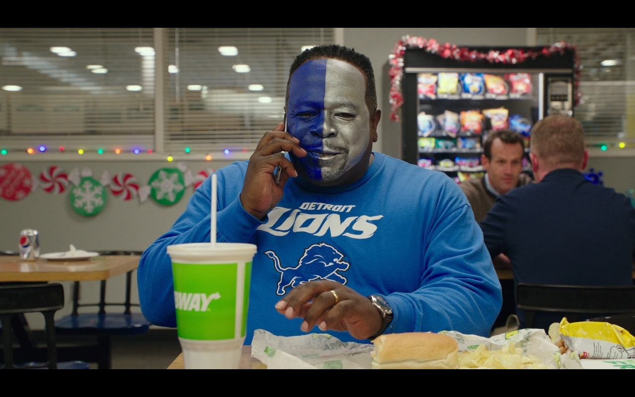 Detroit Lions and Subway – Why Him? (2016) - Movie Product Placement