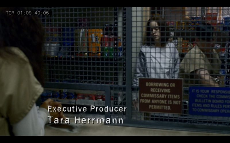 Fanta, Sprite, Coca-Cola Zero - Orange Is the New Black - TV Show Product Placement