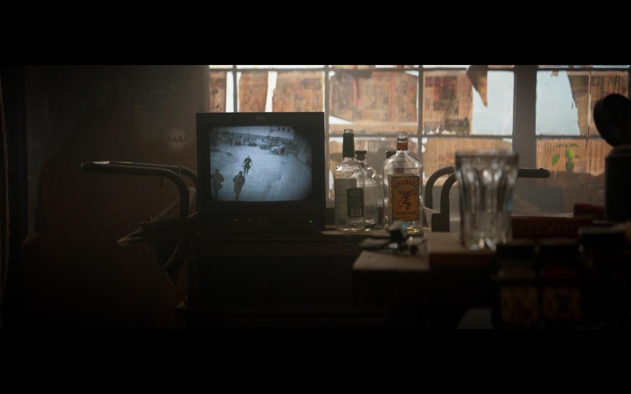 Fireball Cinnamon Whisky – Logan (2017) Movie Product Placement