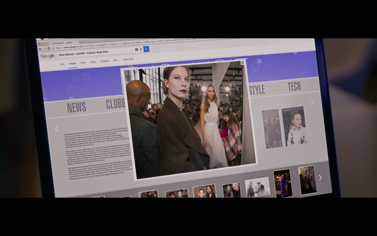 Google Mobile And Desktop Search – Personal Shopper (2016) Movie Product Placement