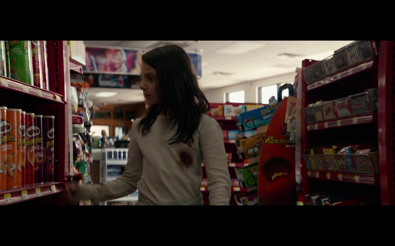 M&M'S, Skittles And Pringles – Logan (2017) Movie Product Placement