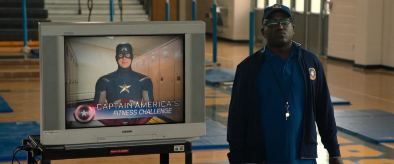Old Sony TV - Spider-Man: Homecoming (2017) Movie Product Placement
