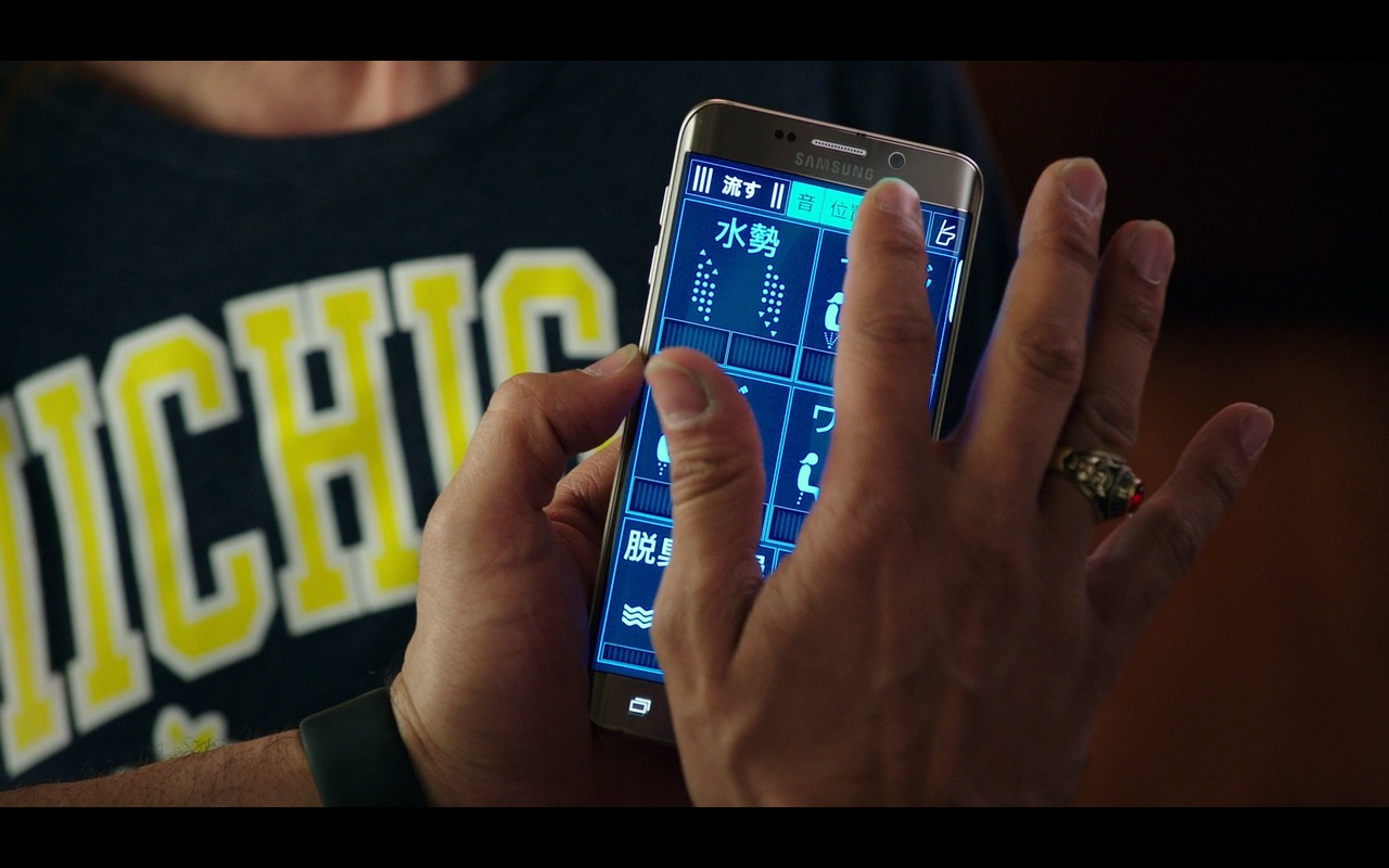 Samsung Galaxy Android Smartphone – Why Him? (2016) Movie Product Placement