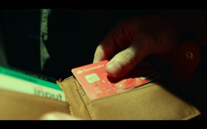 Santander Bank And VISA Card – T2 Trainspotting (2017)