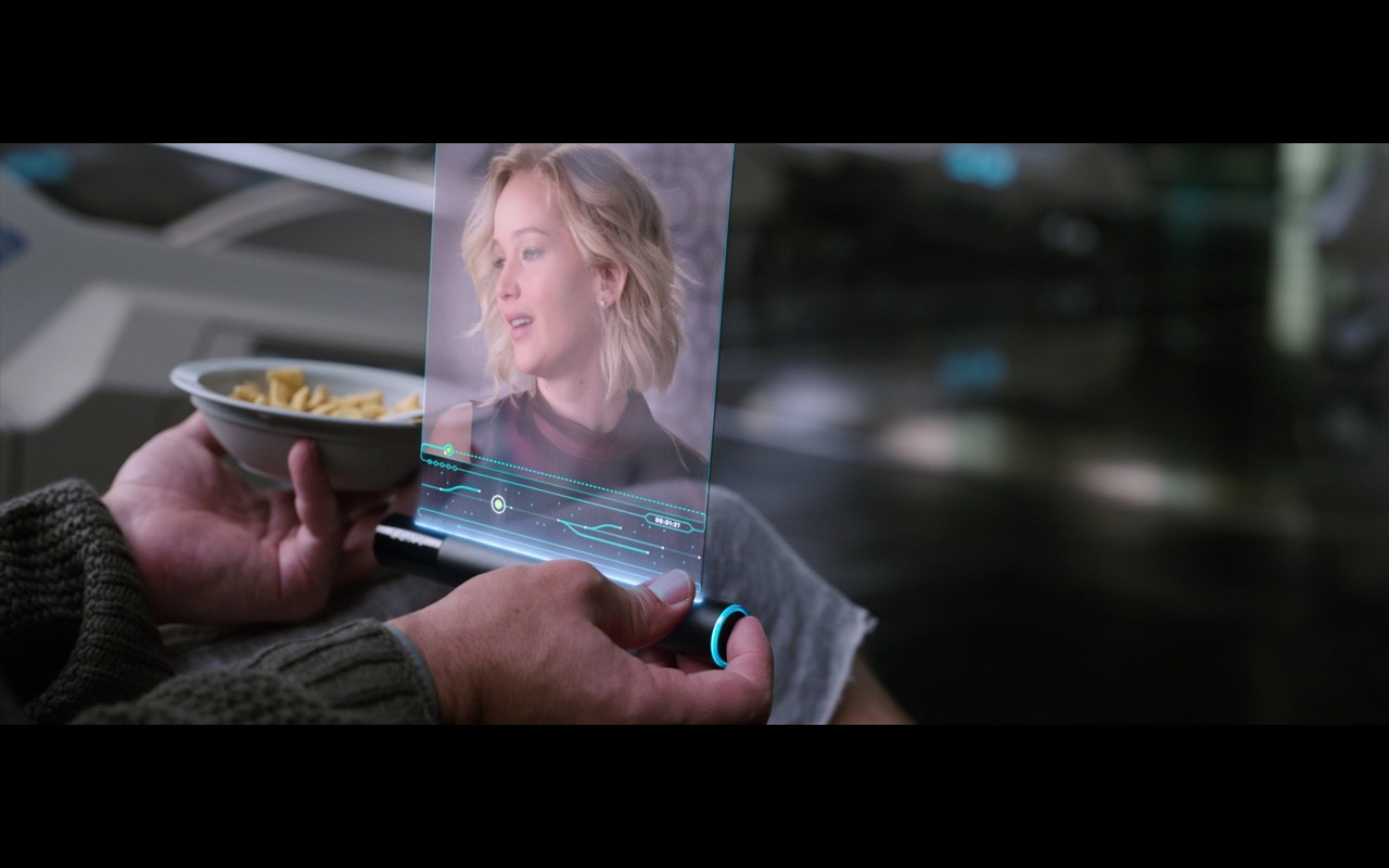 Sony Tablet (Future Concept) - Passengers (2016) Movie Product Placement