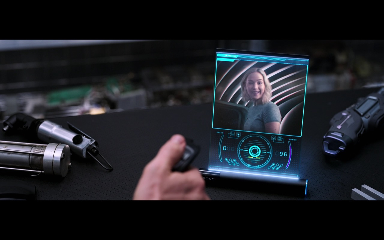 Sony Tablet (Future Concept) - Passengers (2016) - Movie Product Placement