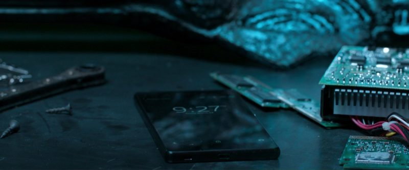 Sony Xperia Smartphones in Spider-Man: Homecoming (2017) Movie Product Placement