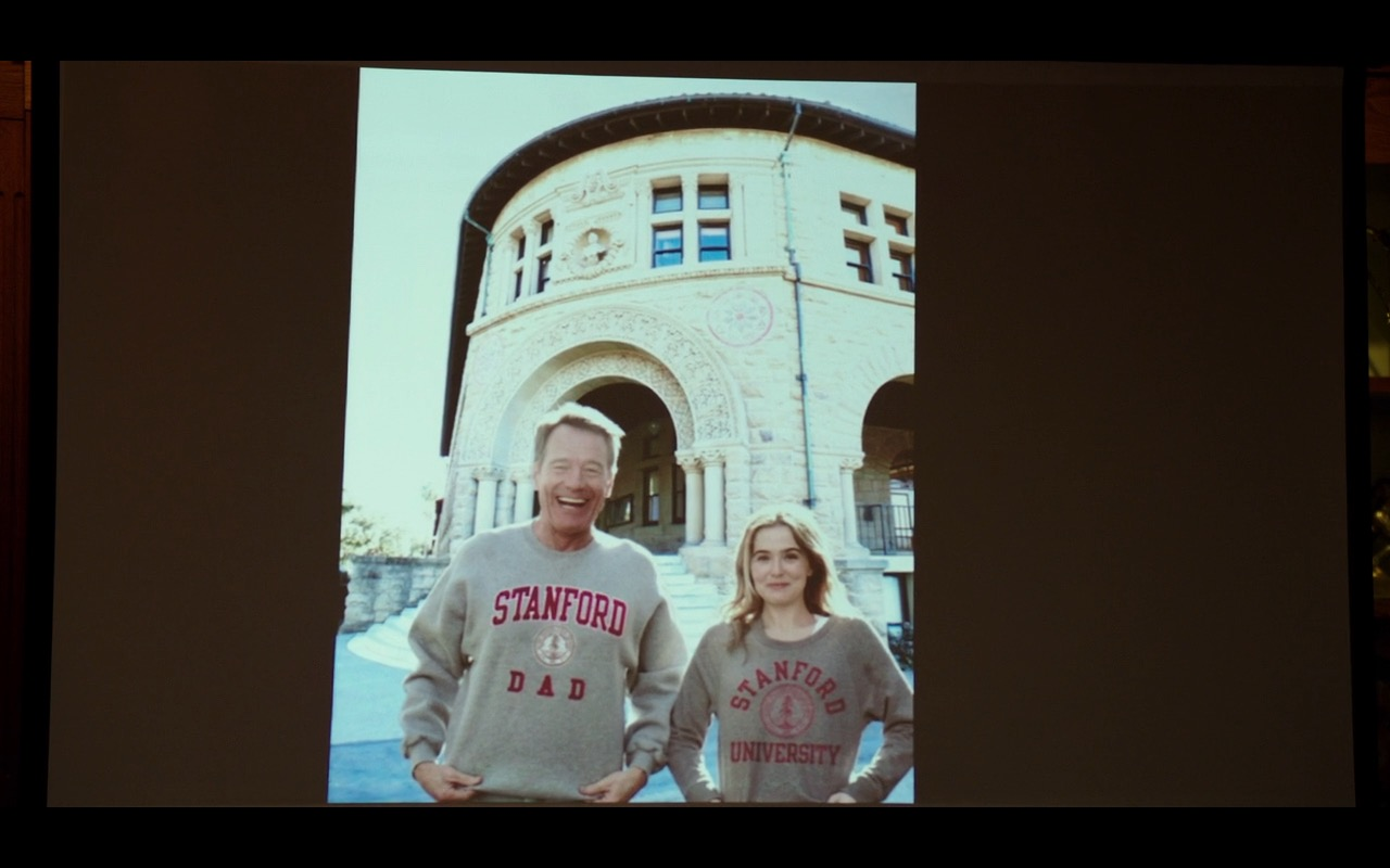 Stanford University – Why Him? (2016) Movie Product Placement