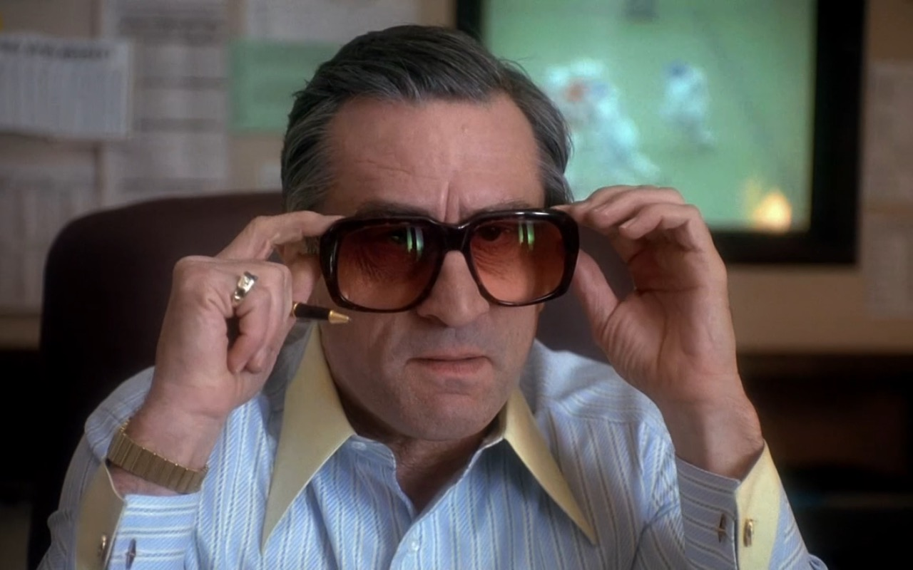 Ultra Goliath II sunglasses worn by Robert De Niro in CASINO (1995) Movie Product Placement