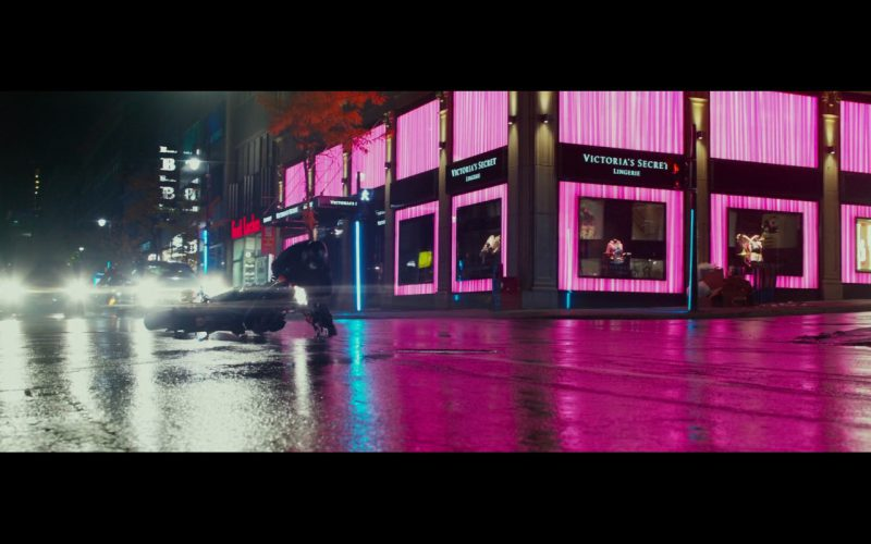 Victoria's Secret Store – John Wick: Chapter 2 (2017) Movie Product Placement