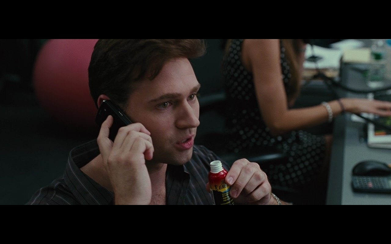 5-hour ENERGY shots - Wall Street: Money Never Sleeps (2010) Movie Product Placement