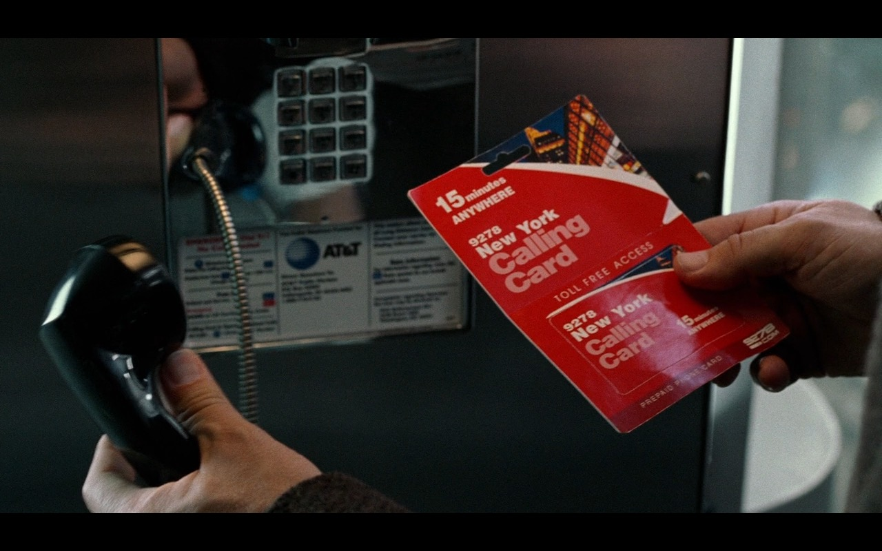AT&T Payphone - The Terminal (2004) Movie Product Placement