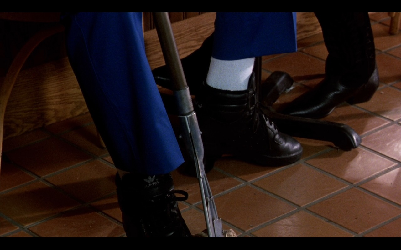Adidas Men's Black Sneakers - Coming to America (1988) Movie Product Placement