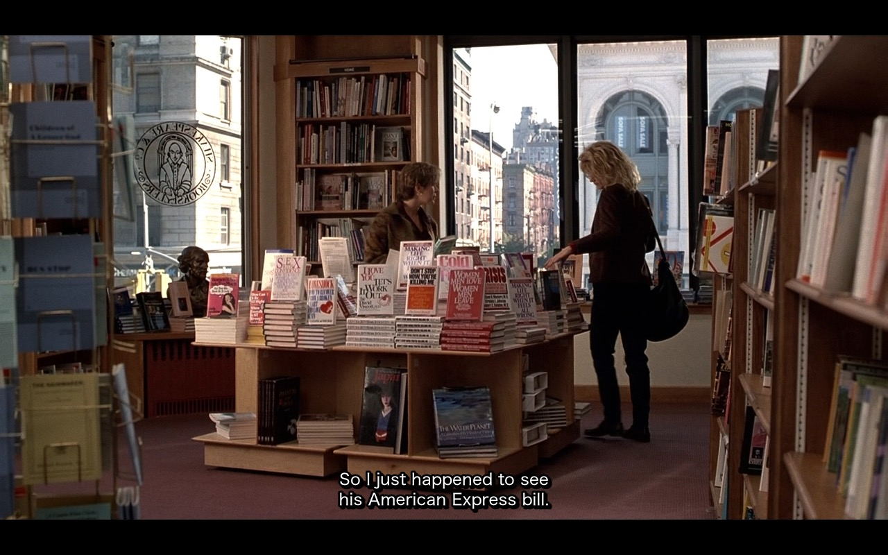 American Express Bill - When Harry Met Sally... (1989) Movie Product Placement