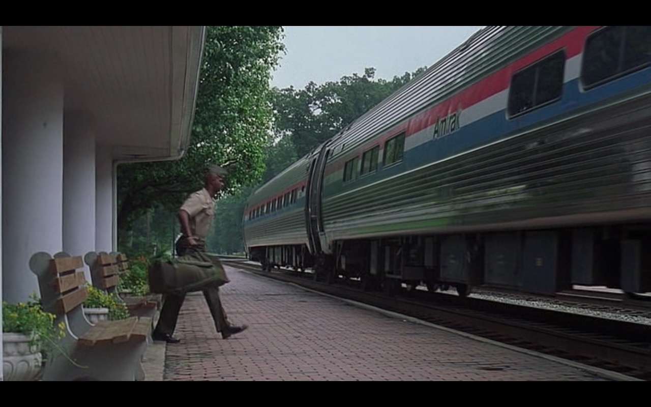 Amtrak - Major Payne (1995) Movie Product Placement