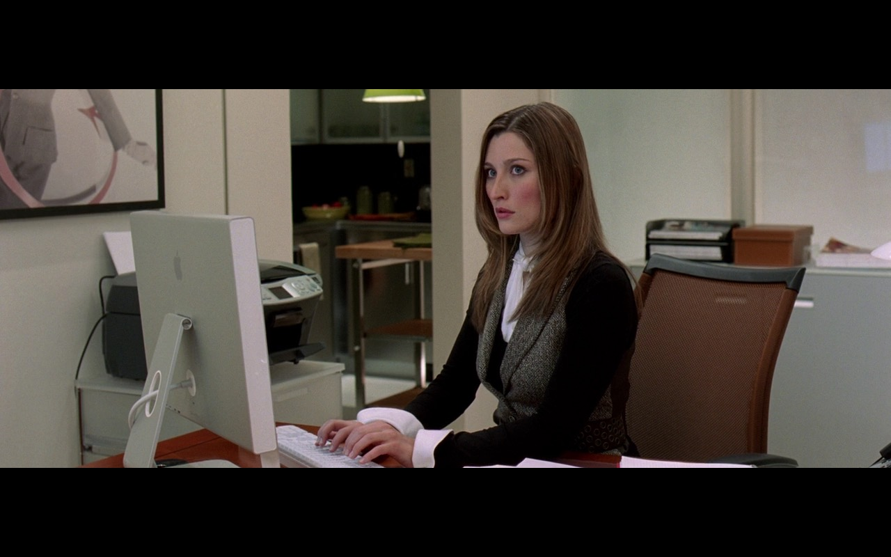 Apple Cinema Display (Monitors) - The Devil Wears Prada (2006) - Movie Product Placement