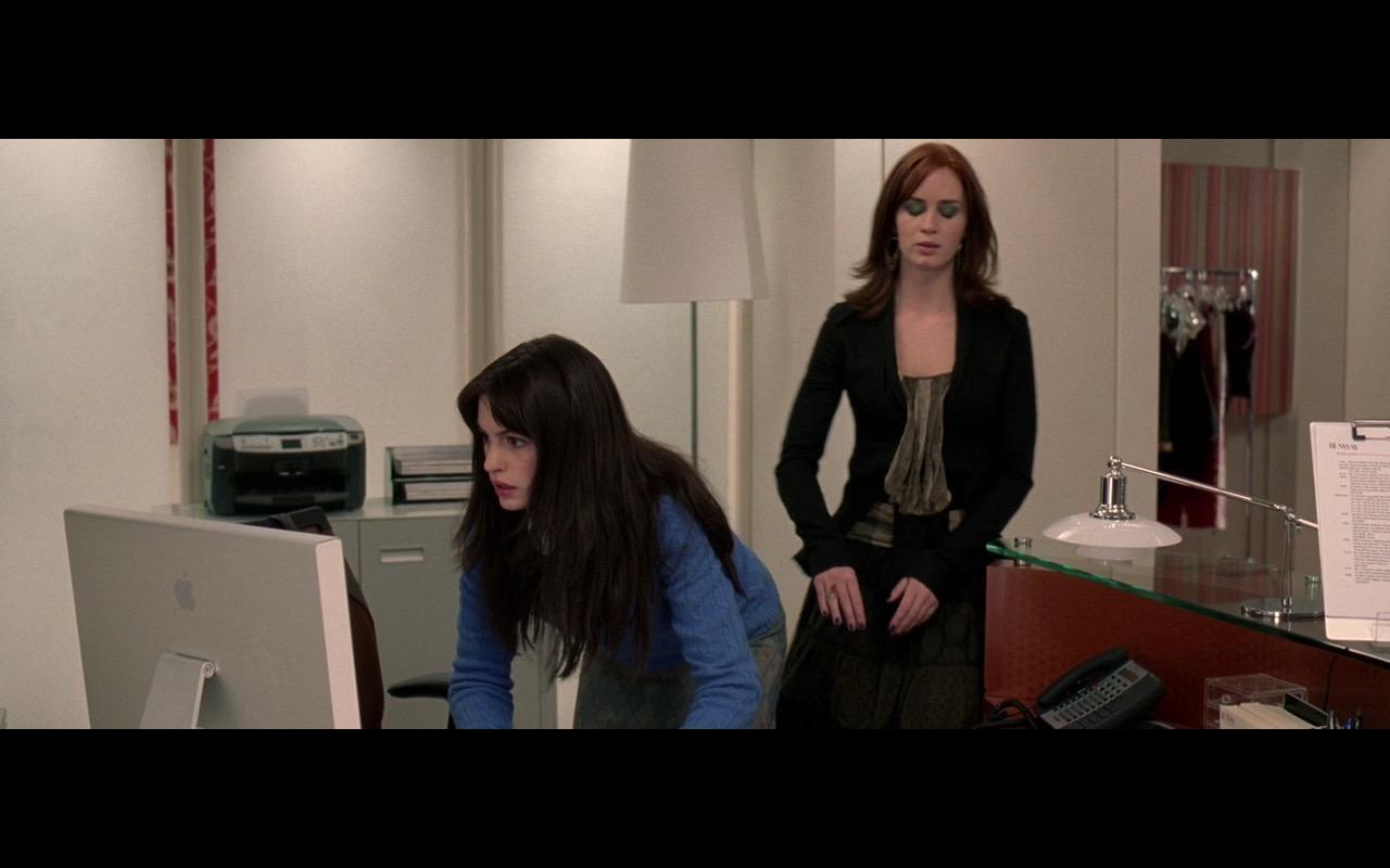 Apple Cinema Display (Monitors) - The Devil Wears Prada (2006) Movie Product Placement