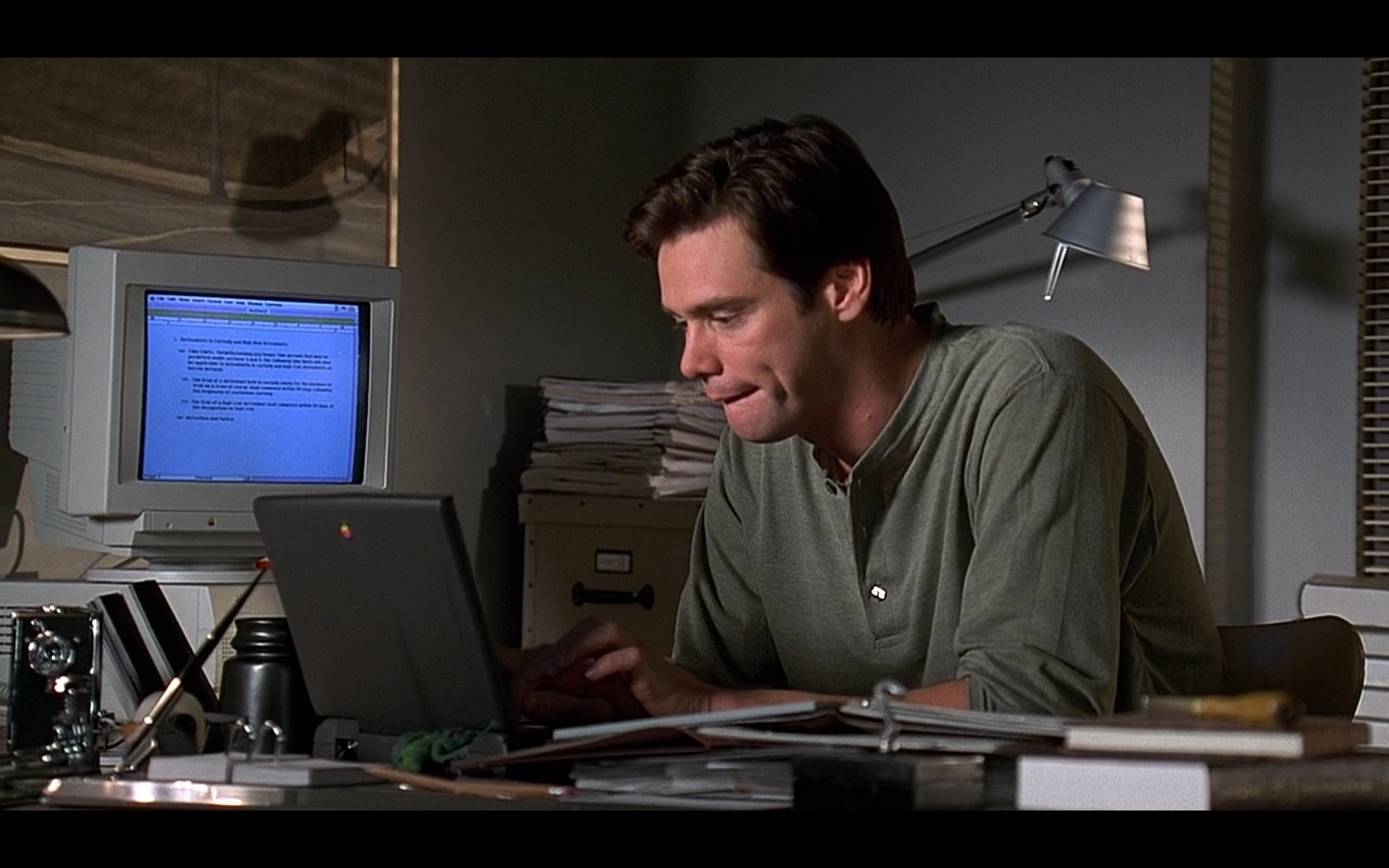 Apple Power Macintosh And PowerBook - Liar Liar (1997) Movie Product Placement