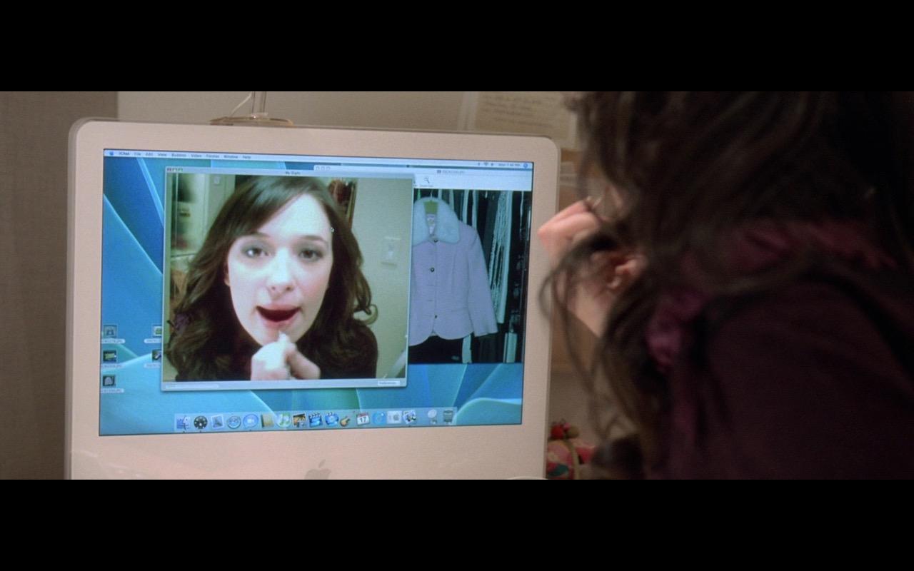Apple iMac G5 - The Devil Wears Prada (2006) Movie Product Placement