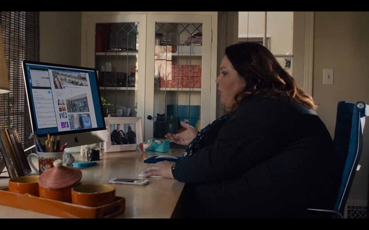 Apple iMac - This Is Us - TV Show Product Placement
