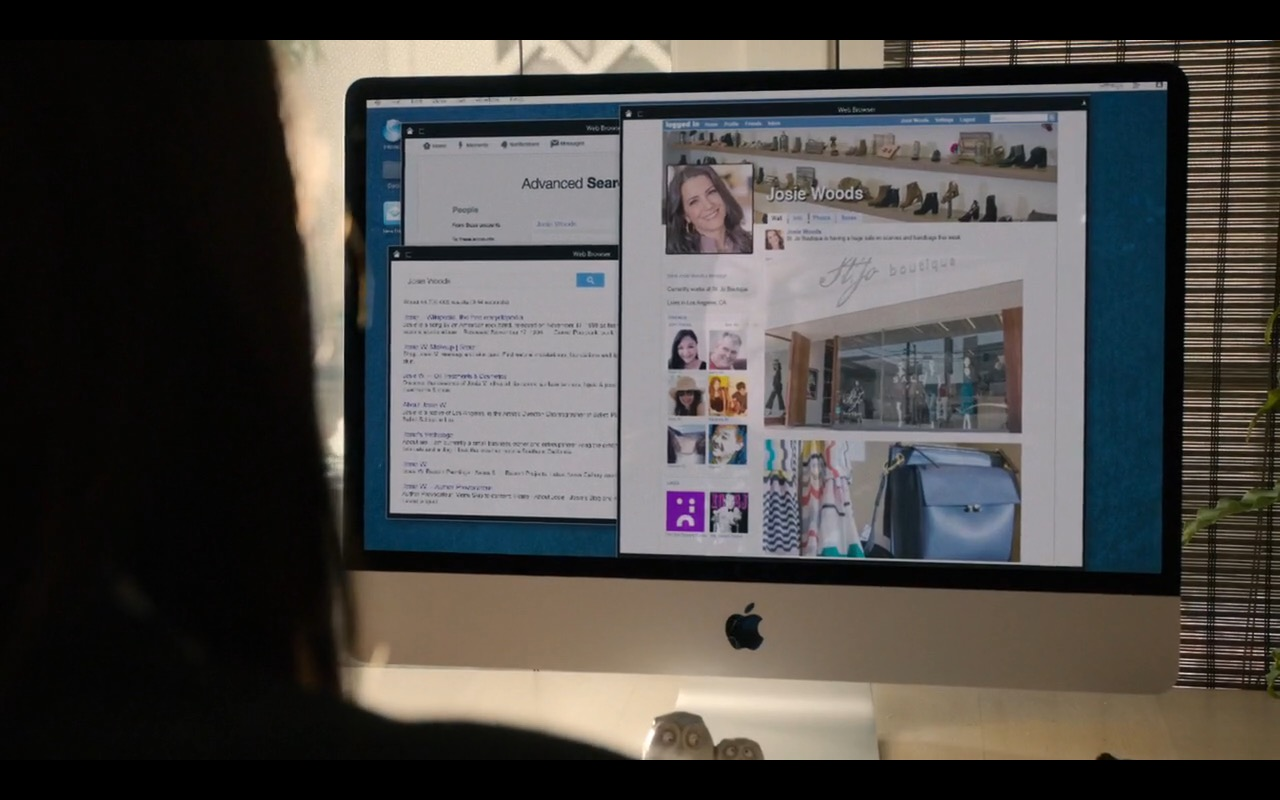 Apple iMac - This Is Us TV Show Product Placement