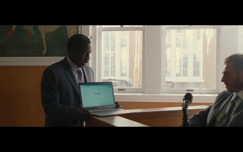 Asus Laptop And Google Website - Gifted (2017) Movie Product Placement