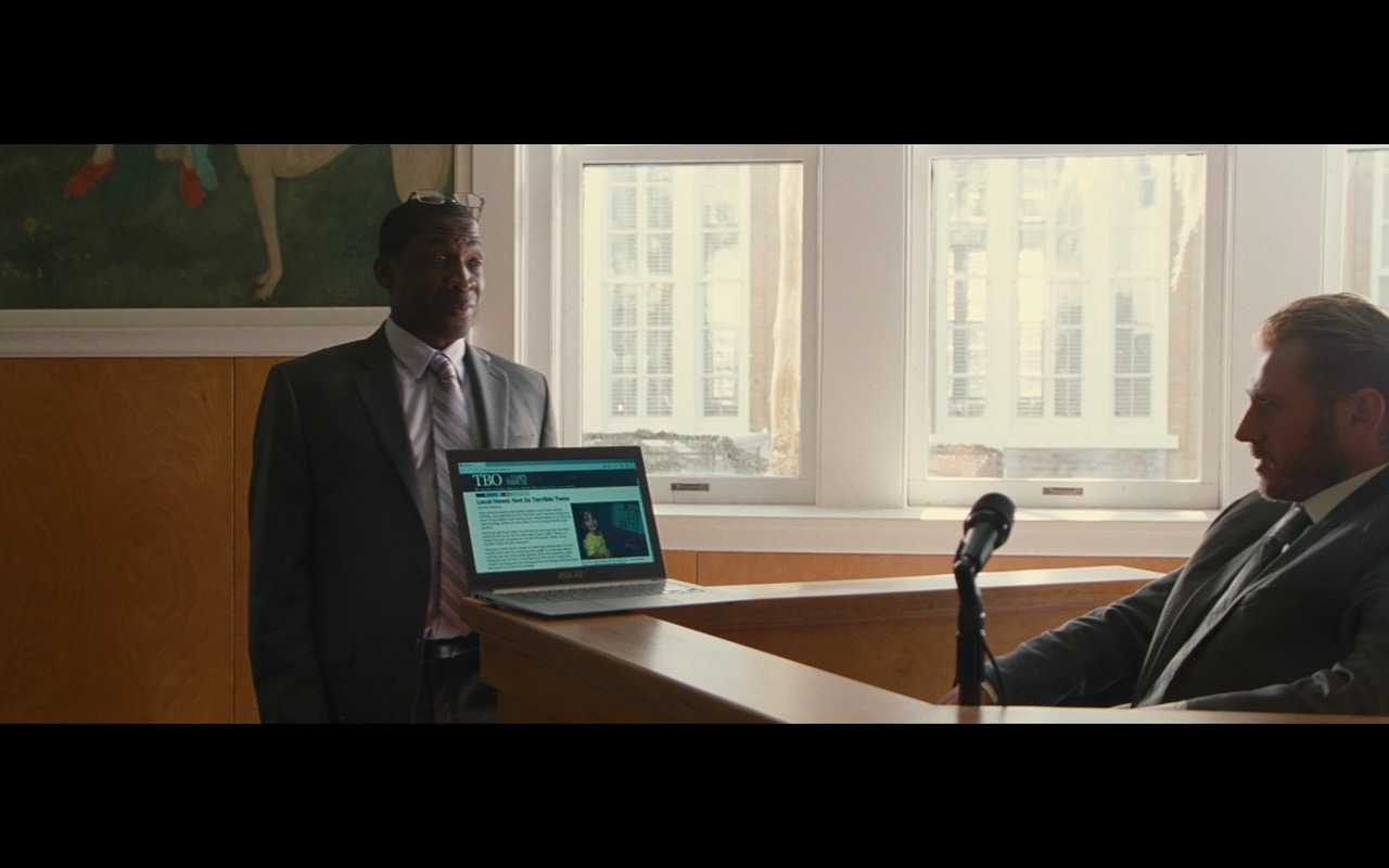 Asus Notebook - Gifted (2017) Movie Product Placement