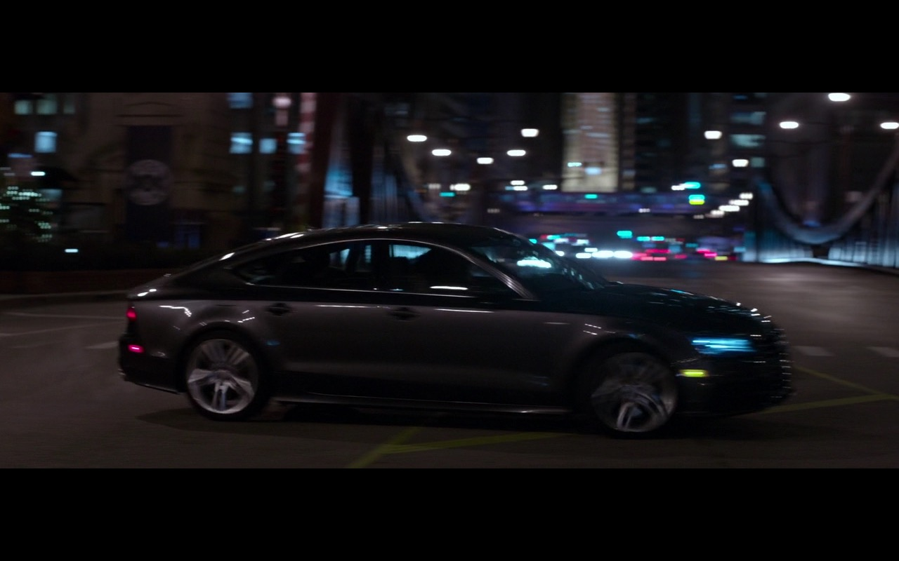 Audi A7 Car - A Family Man (2016) Movie Product Placement