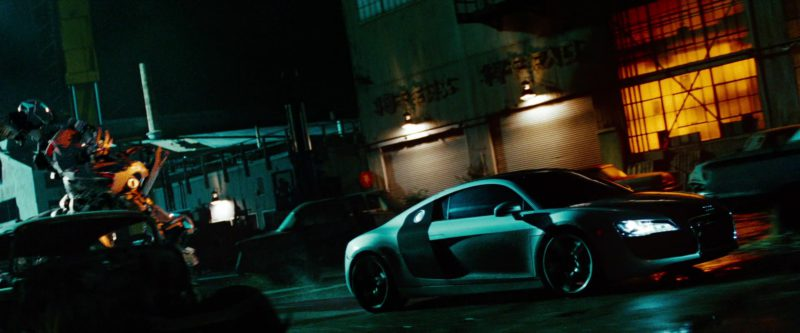 Audi R8 Car in Transformers: Revenge of the Fallen (2009) Movie Product Placement
