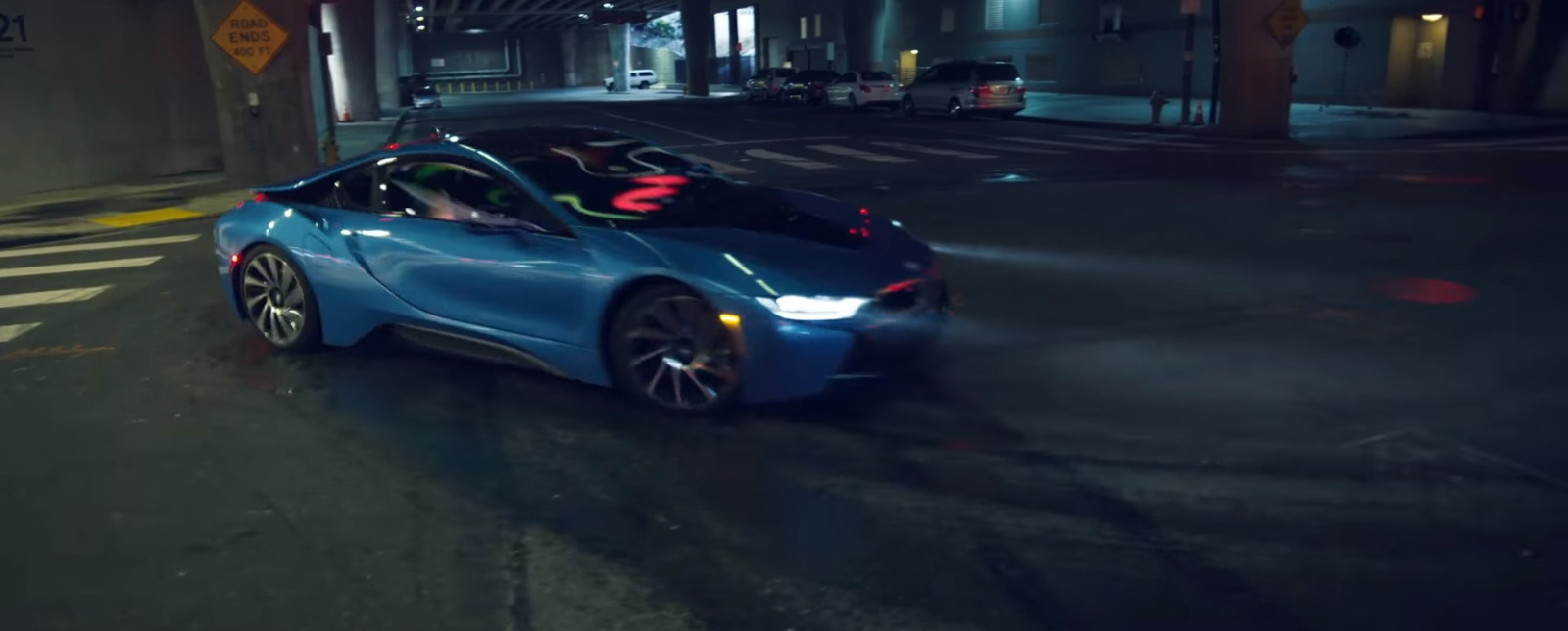 BMW i8 Car - Kendrick Lamar - LOYALTY. ft. Rihanna (2017) Official Music Video Product Placement
