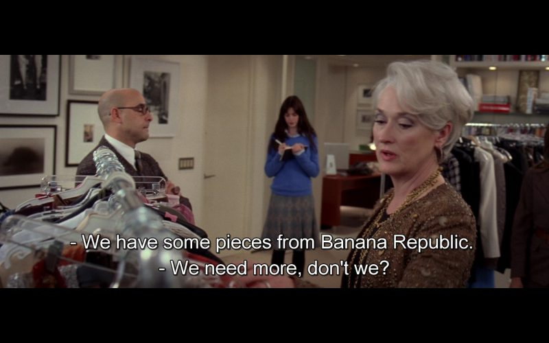 Banana Republic – The Devil Wears Prada (2006)