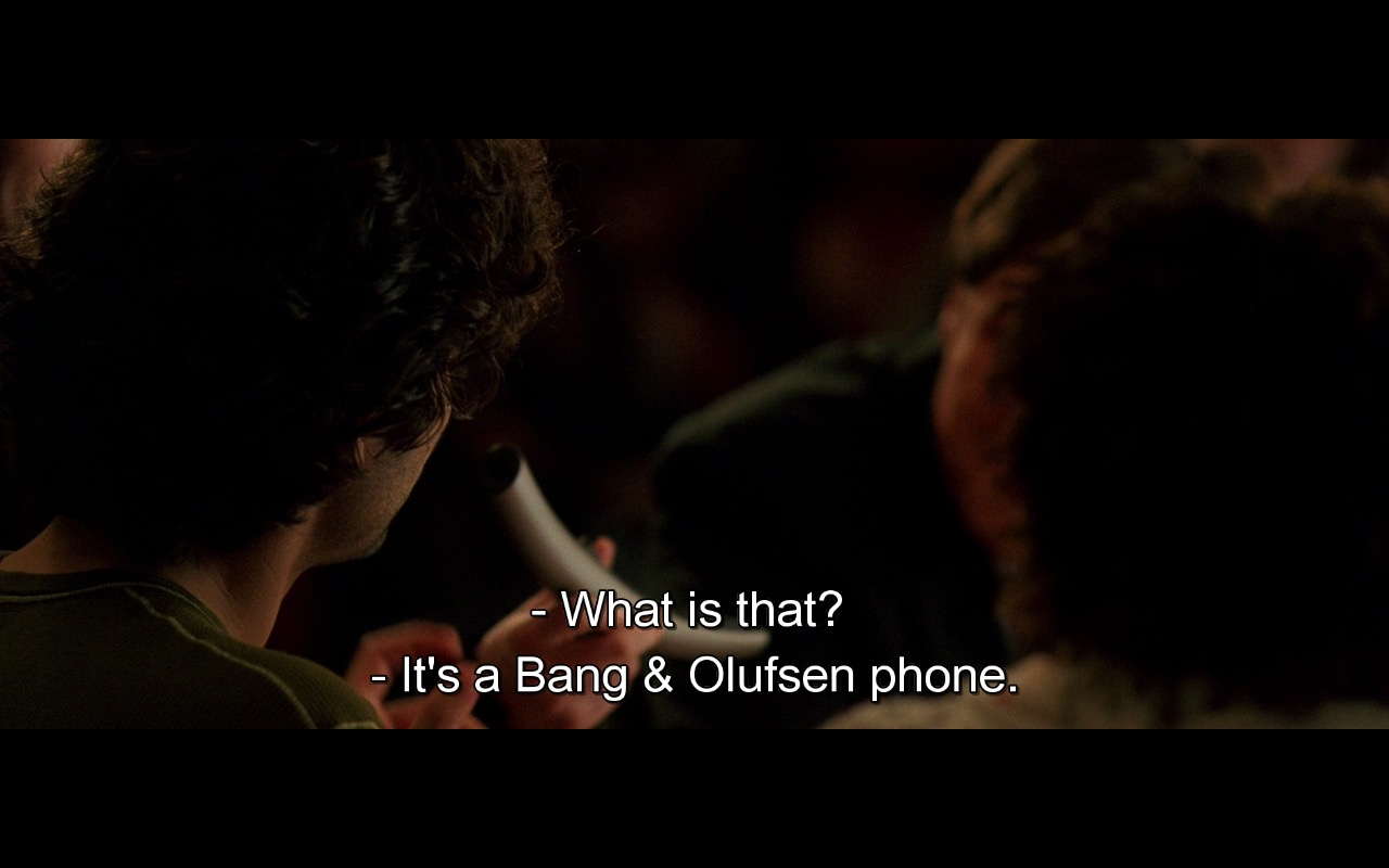 Bang & Olufsen Phone - The Devil Wears Prada (2006) Movie Product Placement