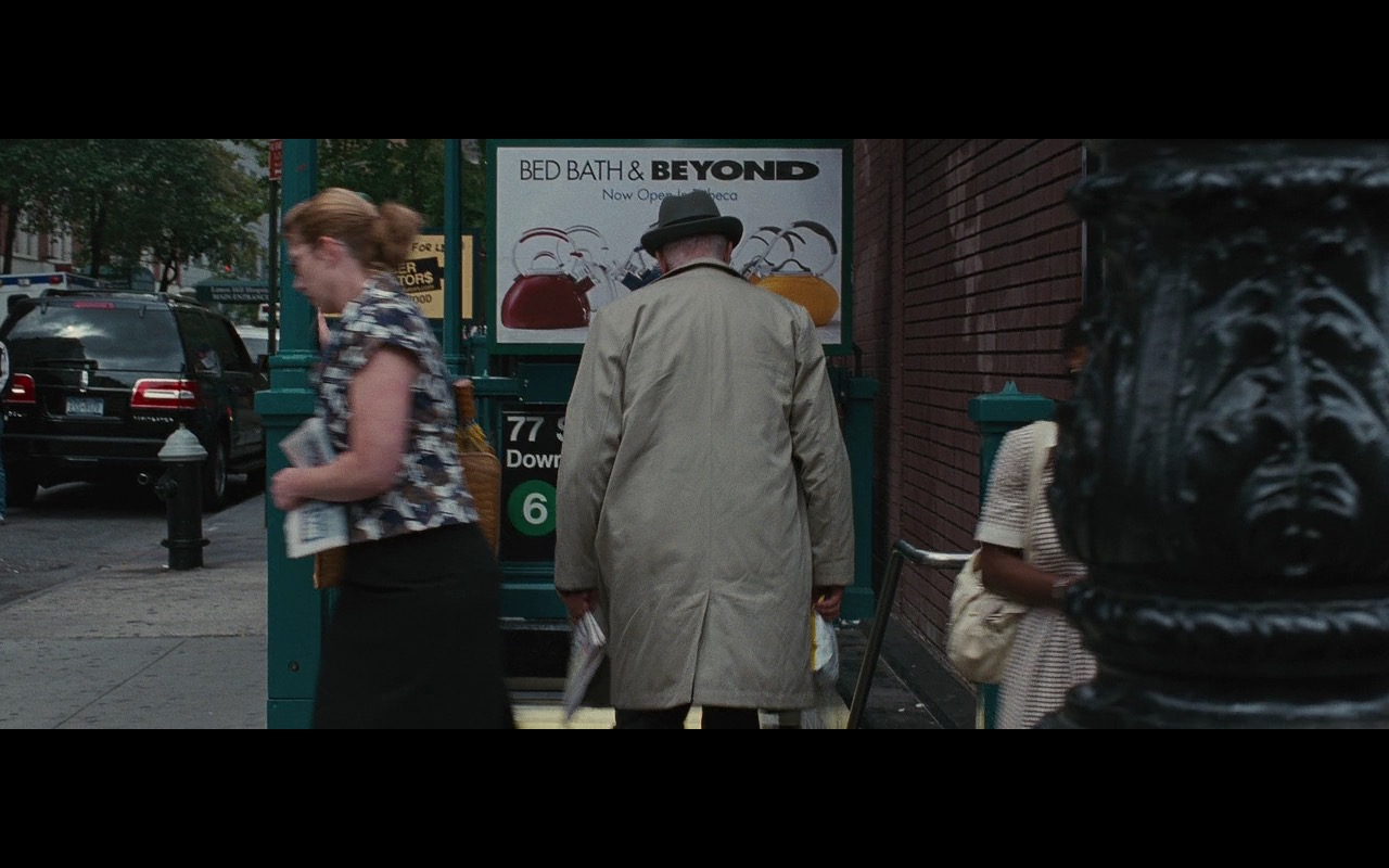 Bed Bath & Beyond – Wall Street: Money Never Sleeps (2010) Movie Product Placement