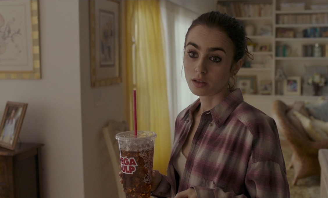 Mega Gulp Drink - To The Bone (2017) Movie Product Placement