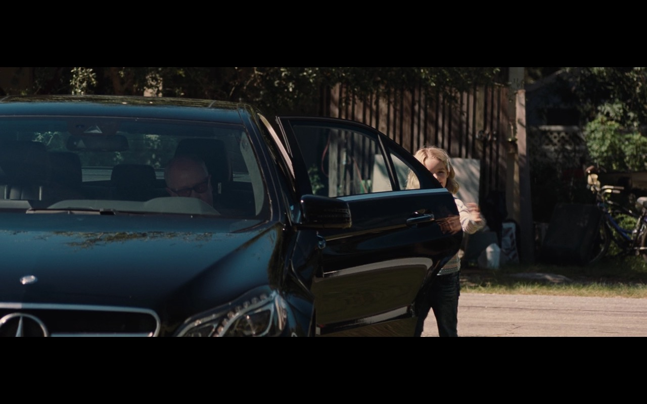Black Mercedes-Benz E-Class – Gifted (2017) Movie Product Placement