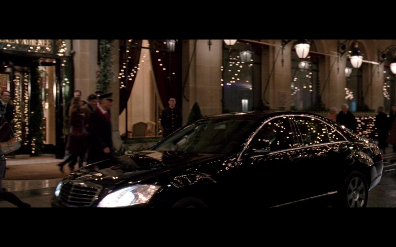 Black Mercedes-Benz S500 - The Devil Wears Prada (2006) Movie Product Placement