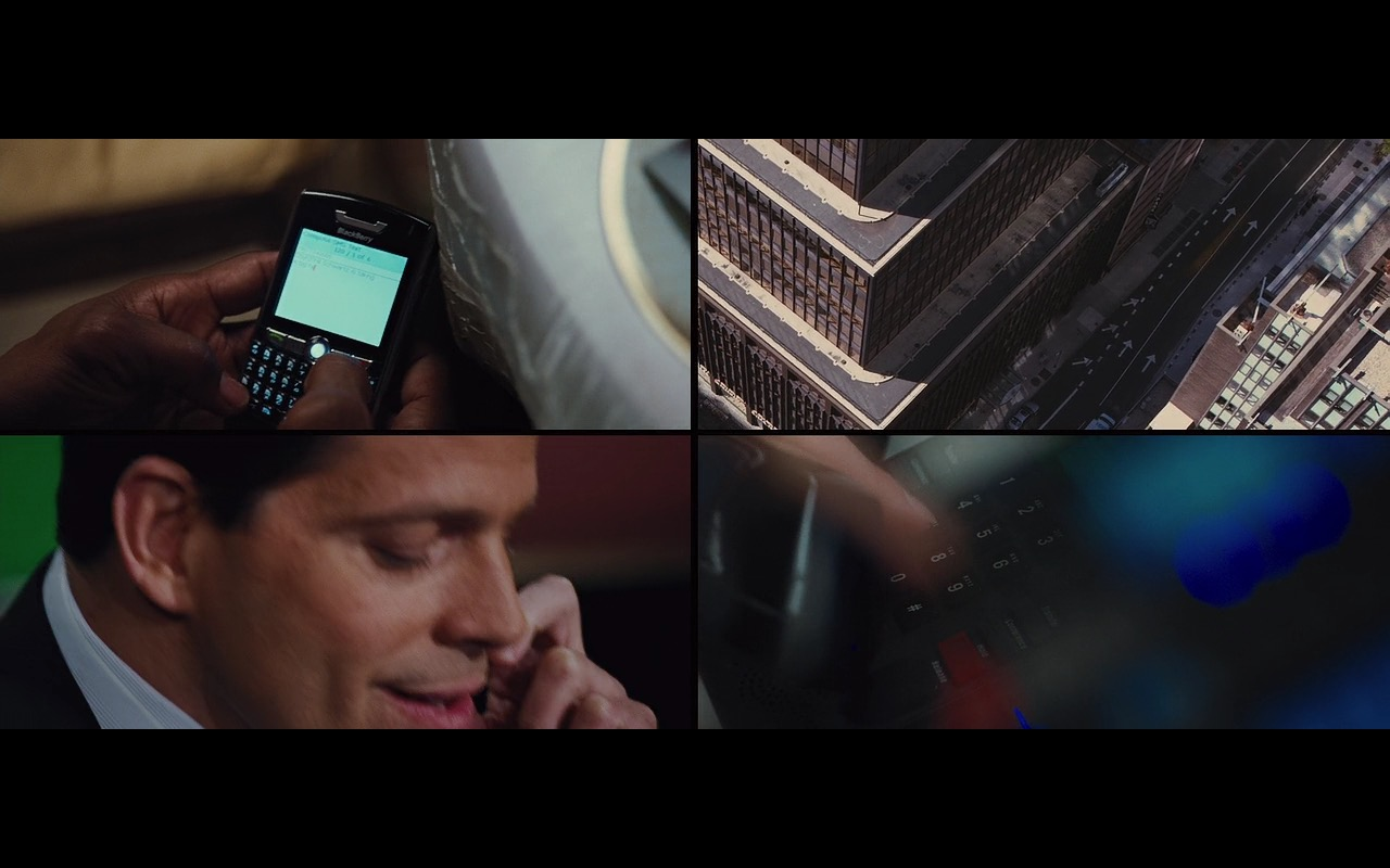 Blackberry Mobile Phones - Wall Street: Money Never Sleeps (2010) Movie Product Placement