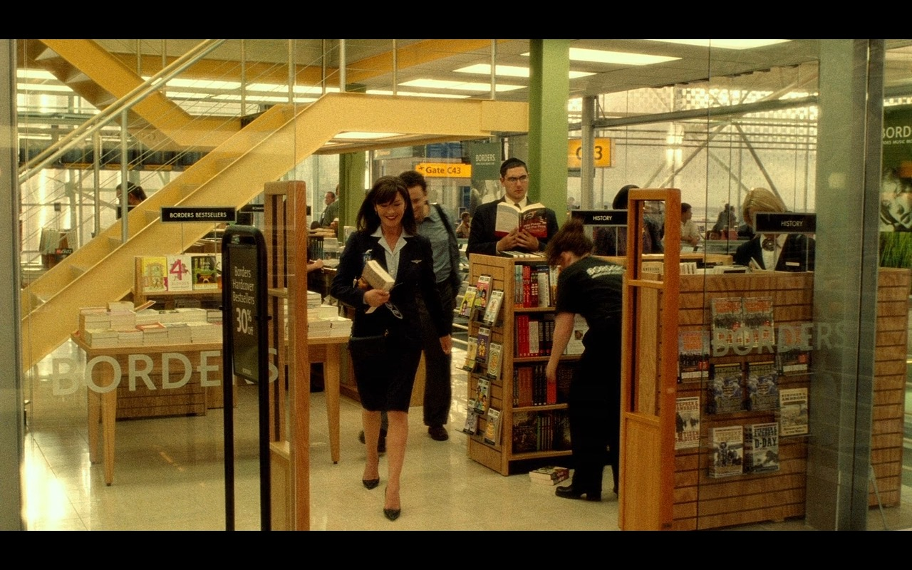 Borders Book & Music Retailer – The Terminal (2004) Movie Product Placement